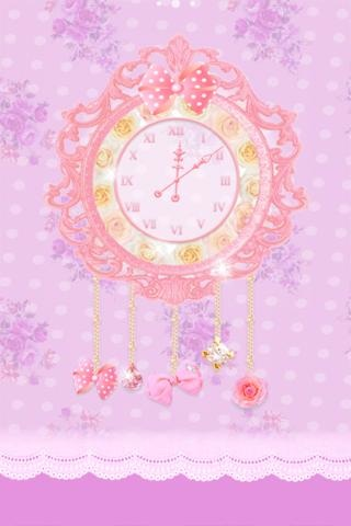 公主时钟动态壁纸第2张图