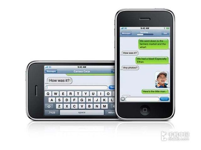 苹果iPhone3GS(联通版8GB)产品本身外观第5张