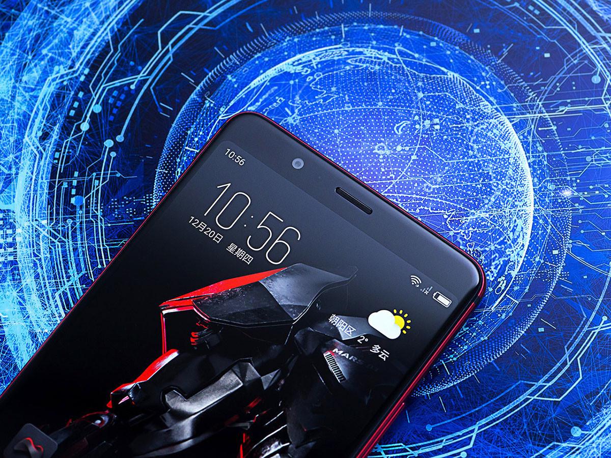 努比亚红魔Mars电竞手机(128GB)机身细节第1张