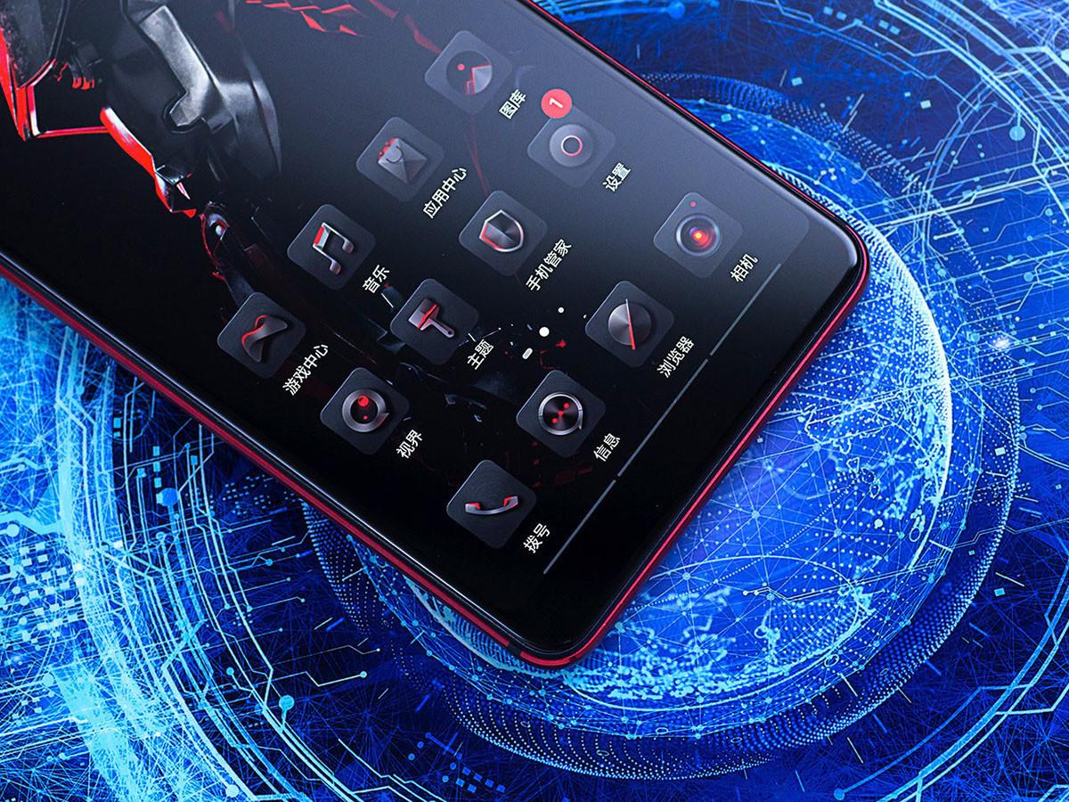 努比亚红魔Mars电竞手机(256GB)机身细节第2张