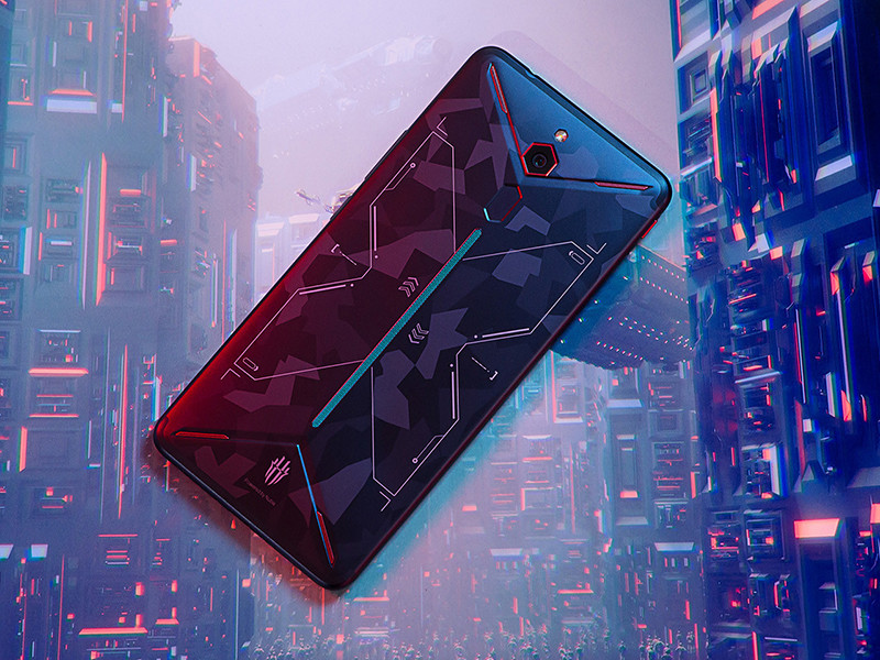 努比亚红魔Mars电竞手机(128GB)整体外观第7张