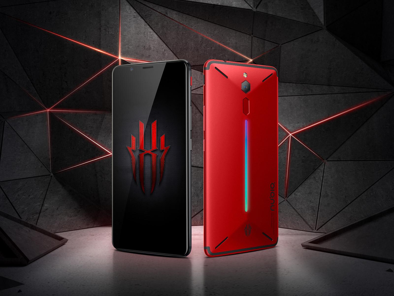 努比亚红魔电竞游戏手机(64GB)整体外观第3张