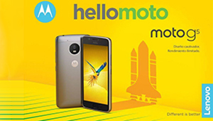 【Moto G5】Moto G5和Moto G5 Plus均采用了大圆角设计,正面配备的实体Home键也已经不像Moto Z那样方正,logo也放到了额头上;背部则是金属材质