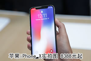 iPhoneX图赏