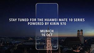 【华为Mate10】作为华为旗下的重磅产品,华为Mate 10将采用全面屏设计,并搭载最新的麒麟970处理器,同时带有部分新功能